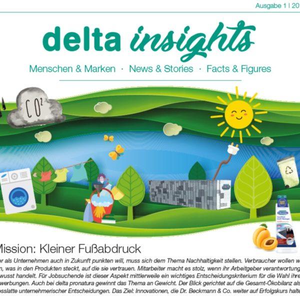 delta pronatura Mitarbeitermagazin
