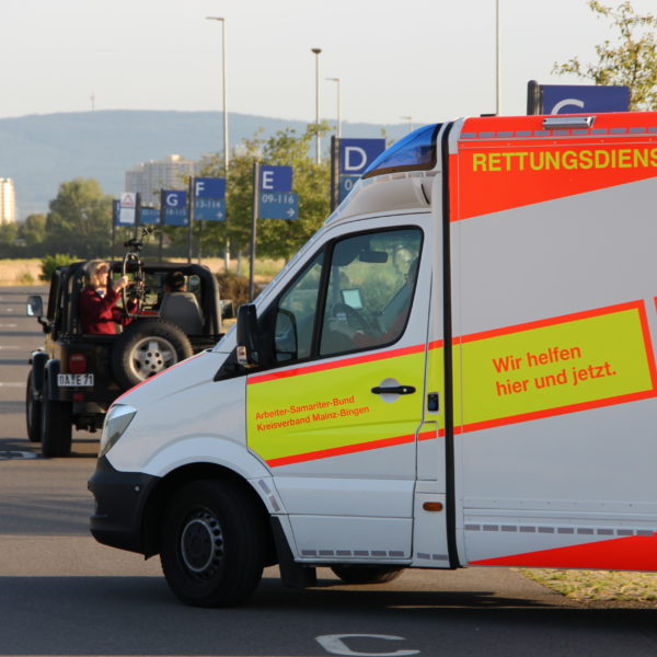 Videodreh beim ASB Mainz